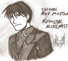 Roy Mustang by ajbluesox