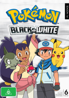 DVD cover for the region 4 release of Season 14 by AllPokemonArts