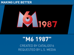 M6 1987 (v1) by Catali2016
