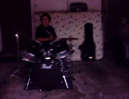 Ian On DRUMS by captaindee