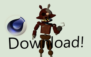 Withered Foxy|Download! ThrPuppet by ThrPuppet