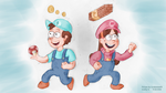 The Dipper Twins by ScoBionicle99