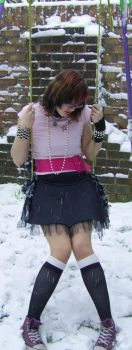 emo in snow by Rain7777