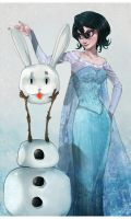 Frozen Rukia by Oriental-Lady