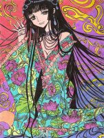 Yuko from XXXHolic: colors by MasterLilith