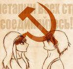 APH Russia/USSR: Hammer and Sickle by hiroyukibenjamin