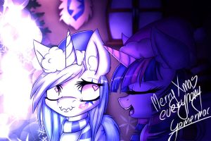 .:Merry Xmas everypony :D:. by Gamermac