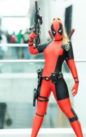 Lady Deadpool by LovisaD