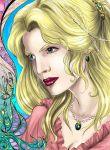 Angelique - colored by Autumn-Sacura