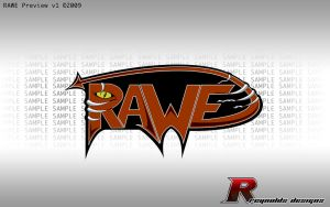 RAWE Sample Logo by creynolds25