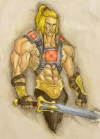 He-man Concept, but Browner by GavinMichelli