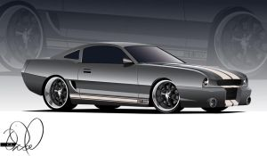 94 Mustang Concept v.2.0 by cityofthesouth