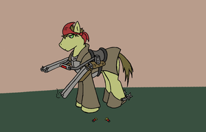 Fallout Equestria Character Concept by ManiakMonkey