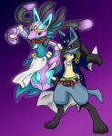 Stardust Pokemon: Lucario by Matryoshika524