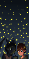fireflies by RedDestiny