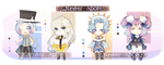 ::COLLAB:: Winter Adopts (OPEN) by EnaMei