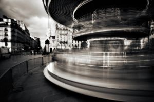 Moving around in Paris 3... by denis2