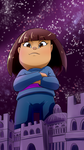 Frisk Giantess by Riadorana