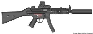 Mind the Gap MP5A2 by Kweonza