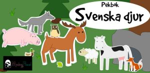 Feature art for Picture Book Swedish Animals by MoritzNina