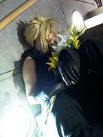 Always thinking of you - Cloud Strife by FuriaeTheGoddess