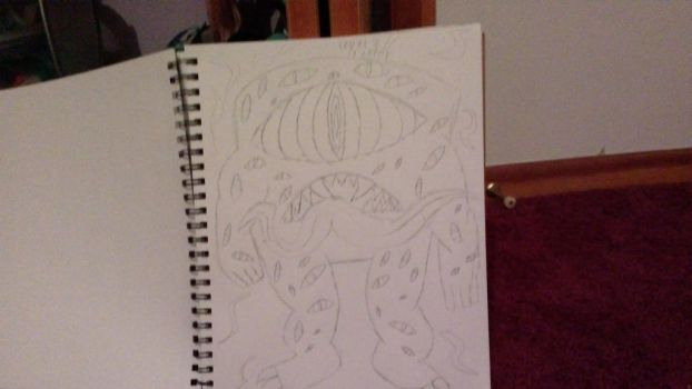 I cant draw non-humanoid monsters by JessicaEvolution