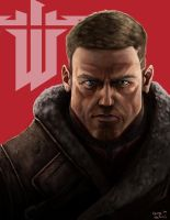 William 'B.J.' Blazkowicz by Rhunyc