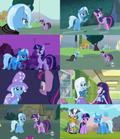 Twixie Collage by ThePoneSenpai