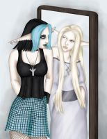 Anika: Reflections of the Past by comicalclare