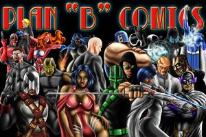 PLAN B COMICS LINEUP by KYLE-CHANEY