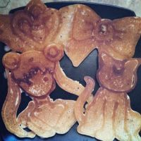 Sailor Moon Pancakes~ by MikoKagomeHigurashi
