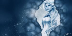 Ice Queen by Ctreuse109