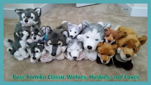 Russ yomiko classic wolves huskies and foxes! by Vesperwolfy87