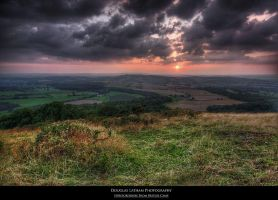 Herefordshire From BritishCamp by DL-Photography