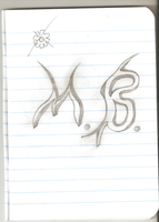 My name Initials. |Drawing| by ALMarkAZ