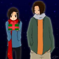 xmas: BROMANCE by coco-the-personer