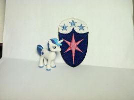 Shining Armor Cutie Mark Patch by ScrwLoose