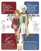 Shuu + Mei OCT Ref by Marfcake