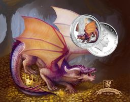 Mythical Creatures: Dragon Coin by T-Tiger
