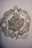 Every Rose Has It's Thorn by GrotesqueDarling13