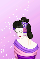 Geisha model by rivetspoon