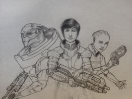ME squad continued by RobtheDoodler