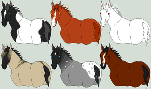 Legless Horsies by The-Halfway-House