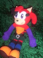 KATE THE ECHIDNA PLUSHIE by Victim-RED