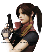 Claire Redfield by HonorHeart