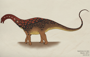 097--APATOSAURUS AJAX by Green-Mamba