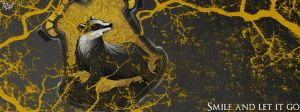 Facebook Cover: Hufflepuff by TheLadyAvatar