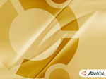 ubuntu splash screen gold by xsos