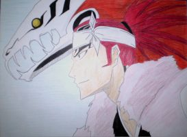Renji's Bankai - colour by w3ph