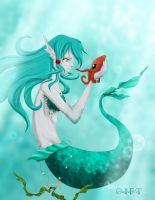 Under Sea Gift by christi-chan